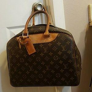Vintage Louis Vuitton Aliz travel bag